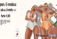 Luisa Teddy Outfit May 2018 Group Gift by Lupus Femina - Teleport Hub - teleporthub.com