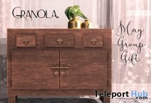 Oriental Console Cabinet May 2018 Group Gift by Granola - Teleport Hub - teleporthub.com