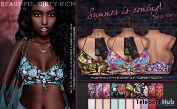 Summer Is Coming Top May 2018 Gift by Beautiful Dirty Rich - Teleport Hub - teleporthub.com