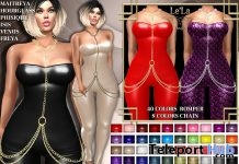 Jackie Romper & Chain Fatpack 99L Promo by Le'La Design - Teleport Hub - teleporthub.com