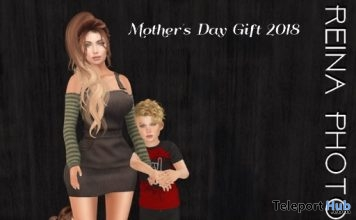 Mother's Day Group Pose May 2018 Gift by Reina Photography - Teleport Hub - teleporthub.com