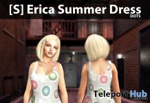 New Release: [S] Erica Summer Dress by [satus Inc] - Teleport Hub - teleporthub.com