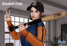 Baseball Pose 1L Promo Gift by Be you - Teleport Hub - teleporthub.com
