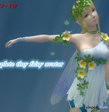 Tiny Fairy Girl Avatar 1L Promo Gift by #A-D-Y# - Teleport Hub - teleporthub.com