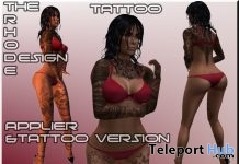 Female Body Tattoo May 2018 Gift by The Rhode Design - Teleport Hub - teleporthub.com