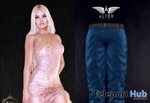 Milly Mini Dress & Tom Blue Pants Sense Event May 2018 Group Gift by ALTER - Teleport Hub - teleporthub.com