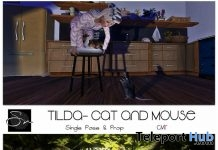 Tilda Squirrel Tree And Cat & Mouse Poses May 2018 Group Gift by Something New - Teleport Hub - teleporthub.com