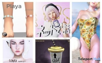 Several Group Gifts At The Chapter Four 5th Anniversary May 2018 by Various Designers - Teleport Hub - teleporthub.com
