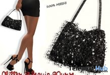 Glitter Sequin Purse Black Gift by S&S Creations - Teleport Hub - teleporthub.com
