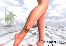 Butterfly Ankle Tattoo 5L Promo by Neeko - Teleport Hub - teleporthub.com