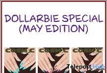 Dollarbies Special May Edition Nail Applier For Maitreya Hand 1L Promo by COSMiC - Teleport Hub - teleporthub.com