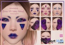 Galaxy Makeup CATWA Head Applier May 2018 Group Gift by {munchi} - Teleport Hub - teleporthub.com
