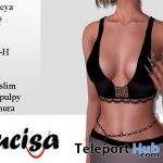 Firenza Lace Black Top 1L Promo Gift by Lucisa - Teleport Hub - teleporthub.com