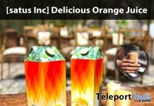 New Release: Delicious Orange Juice by [satus Inc] - Teleport Hub - teleporthub.com