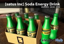 New Release: Soda Energy Drink by [satus Inc] - Teleport Hub - teleporthub.com