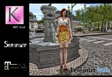 Summer Dress 10L Promo by Kegel Clothing - Teleport Hub - teleporthub.com