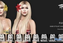 Fiji Hair Fatpack With Style HUD May 2018 Group Gift by TRUTH HAIR - Teleport Hub - teleporthub.com