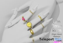 Lian Bento Rings June 2018 Group Gift by VO.Z - Teleport Hub - teleporthub.com