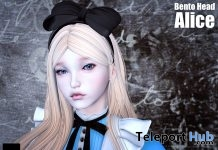Alice Bento Head June 2018 Group Gift by (dot)xxx - Teleport Hub - teleporthub.com