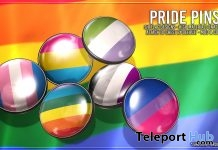 Pride Pins June 2018 Group Gift by Asteroidbox - Teleport Hub - teleporthub.com