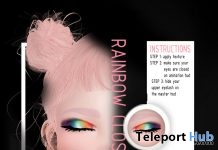 Rainbow Eyeshadow June 2018 Group Gift by Mug - Teleport Hub - teleporthub.com