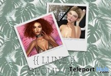 Bored Girl & Cutie Selfie Bento Poses June 2018 Group Gift by LUNE - Teleport Hub - teleporthub.com