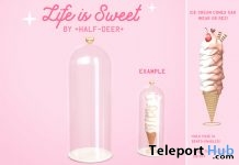 Life is Sweet Ice Cream Display Dome June 2018 Gift by Half-Deer - Teleport Hub - teleporthub.com