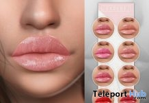 Glossy Lipstick Pack For Catwa Heads June 2018 Group Gift by LUXREBEL - Teleport Hub - teleporthub.com