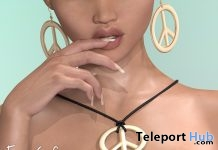 Rosa Necklace & Earrings Rewind Event June 2018 Gift by Vanilla Bae - Teleport Hub - teleporthub.com
