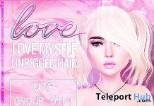Love Myself Hair June 2018 Group Gift by Love - Teleport Hub - teleporthub.com