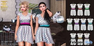 The Tide is High Dress Fatpack June 2018 Group Gift by ENTICE - Teleport Hub - teleporthub.com