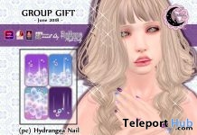 Hydrangea Nail Appliers June 2018 Group Gift by petit chambre - Teleport Hub - teleporthub.com