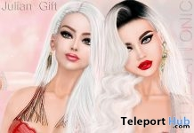 Julian Lingerie Set Group Gift by Lesty @ AVANGARDE Event June 2018 - Teleport Hub - teleporthub.com
