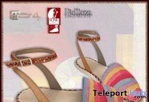 Furaha Flip Flop Espadrilles Flats June 2018 Group Gift by ALB Dream Fashion - Teleport Hub - teleporthub.com