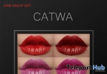 Lipsticks For Catwa Head June 2018 Group Gift by ZGURSKY - Teleport Hub - teleporthub.com