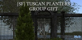 Tuscan Planters June 2018 Group Gift by Shutter Field - Teleport Hub - teleporthub.com