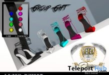 Laced Pumps Fatpack June 2018 Group Gift by HB Design - Teleport Hub - teleporthub.com