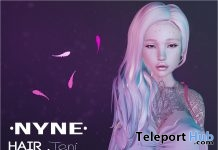 Teni Hair June 2018 Group Gift by NYNE - Teleport Hub - teleporthub.com