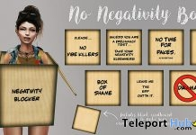 No Negativity Boxes June 2018 Gift by Junk Food - Teleport Hub - teleporthub.com