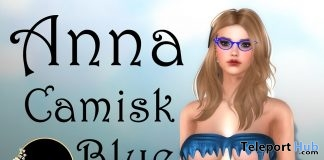 Anna Camisk Blue June 2018 Group Gift by Continuum Fashion - Teleport Hub - teleporthub.com