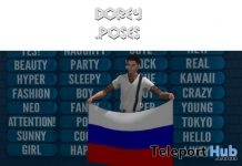 World Cup 2018 Pose & 32 National Flags June 2018 Group Gift by Dorey Poses - Teleport Hub - teleporthub.com
