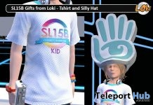 SL15B Kids T-shirt & Silly Hat June 2018 Gift by Loki - Teleport Hub - teleporthub.com