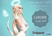 The Cute Heart Tail Luxure Club Opening Group Gift by Safybelle - Teleport Hub - teleporthub.com