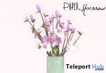Magnolia Flowers June 2018 Group Gift by Paper.Sparrow - Teleport Hub - teleporthub.com