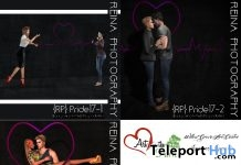 Celebrate Love Couple Poses June 2018 Gift by Reina Photography - Teleport Hub - teleporthub.com