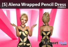 New Release: [S] Alena Wrapped Pencil Dress by [satus Inc] - Teleport Hub - teleporthub.com