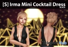 New Release: [S] Irma Mini Cocktail Dress by [satus Inc] - Teleport Hub - teleporthub.com