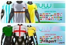 World Shirt For Men & Women June 2018 Group Gift by Uniwaii - Teleport Hub - teleporthub.com