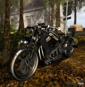 New Release: Black Knight Bike by [sau] motors @ The Men Dept June 2018 - Teleport Hub - teleporthub.com