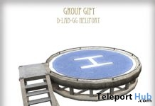 Heliport June 2018 Group Gift by D-LAB - Teleport Hub - teleporthub.com